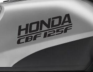 HONDA CBF 125F motorbike bike logo decals CUSTOM COLOUR Vinyl Sticker