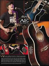 The Ibanez AE Series Acoustic/Electric Guitar ad 8 x 11 advertisement print