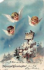 BG14850 corner cut children angel weihnachten christmas  germany