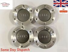 4x Audi Alloy TT Wheel Centre Caps Hub Caps 147mm OEM 8N0601165A MK1 1998 - 2005