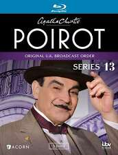 New: POIROT (Agatha Christie) Series 13 [3-Disc] Blu-Ray Set