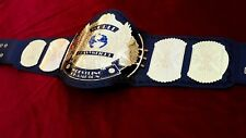 WWF 2mm Winged Eagle World Heavyweight Wrestling Championship Adult Replica Belt