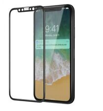 3D FULL COVER iPhone 10 SCHWARZ PANZERGLAS Panzerfolie CURVED Protect Glass 9H