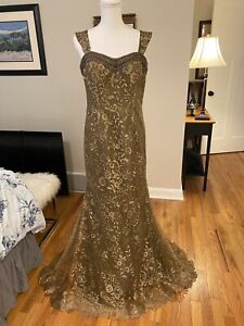 Brand New Never Worn/Montage by Mon Cheri Gown style 216961 Sz 10