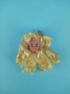 Mattel 1991 Sun Sensation Skipper Doll Head Blonde Brown Streaks For OOAK Parts