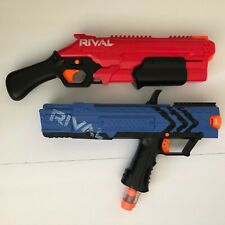 Nerf Rival Takedown XX-800 Red  And Nerf Rival Apollo XV-700 Blue
