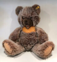 "Vintage Steiff Brown Bear 0305/50 19-20"" Moveable Joints Squeaks - West Germany"
