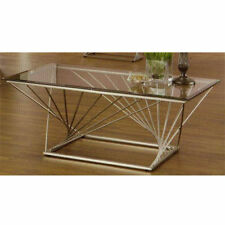Chrome Rectangle Coffee Tables