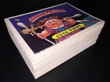 GARBAGE PAIL KIDS 9th SERIES 9 COMPLETE 88-CARD SET 1987 +FREE WAX WRAPPER OS9