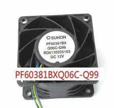 1pc SUNON PF60381BXQ06C-Q99 Fan 60*38mm 12V 4pin