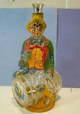 Rare bouteille vintage de Marsala, Viarengo Torino, bon état mais dé-peint 32 cm