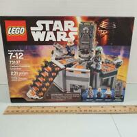 Lego Star Wars Set # 75137 CARBON FREEZING CHAMBER New In SEALED BOX Wear on Box