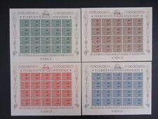 Liechtenstein 1953 315-318 ** cachet en petits arcs scouts 1280 € + + (z9039c