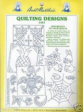 Aunt Martha's Quilting Designs Collection #3367