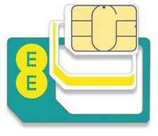 EE Orange T Mobile SIM Card Nano Micro Standard Loaded 5gb 500 Mins Unlim Text