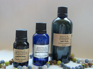Essential Oils Undiluted 100% Pure & Natural up to 100ml Free US Shipping.