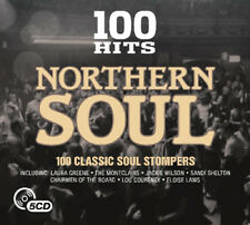 100 Hits Northern Soul - 5 Disc Set CD UK Post