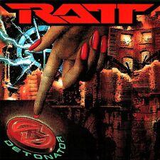 Ratt - Detonator Vinyl LP Hair Glam Metal Sticker or Magnet