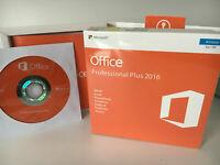 Microsoft Office Professional Plus 2016 - 32/64 Bit - Brand New & Sealed - DVD