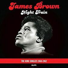 JAMES BROWN NIGHT TRAIN THE KING SINGLES 1960 - 1962 - 2 LP GATEFOLD VINYL