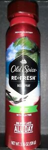 Old Spice Fiji Body Spray Fresher Collection Refresh For Men 3.75oz