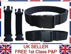 "38mm 50mm Adjustable Webbing Belt (1.5"" , 2"") Waist Extension Travel Bum Bags"