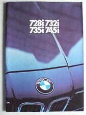 Prospekt BMW 7er E 23 - 728i, 732i, 735i, 745i - 2.1979, 56 Seiten