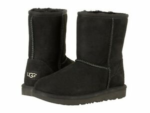 Children's Shoes UGG Big Kids / Youth Classic II Sheepskin Boot 1017703K BLACK