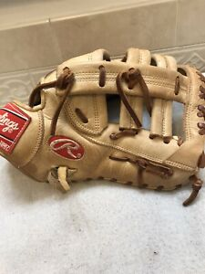 "Rawlings GGPFBX 12.75"" Baseball Softball First Base Mitt Right Throw"