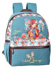 Official Winx Club Fairy Girls Large Backpack Rucksack School Travel Denim Bag