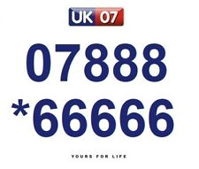 07888 *66666 Numbers - Gold Easy Memorable Business Platinum VIP Mobile Numbers