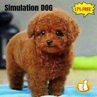 Realistic Teddy Dog Simulation Toy Dog Puppy Lifelike Stuffed Toy