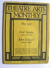 More details for theatre arts monthly may 1937 fred & adele astaire john gielgud sweden africa