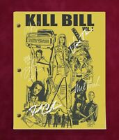 Kill Bill Complete Movie Script With Reproduction Signatures