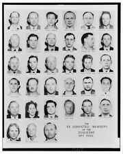 Duquesne Spy Ring Mug Shots 1941 NAZI Spies Espionage 33 Convicted Members