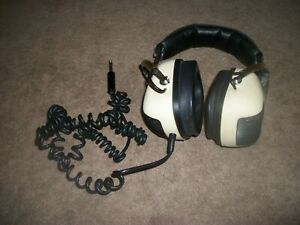 Vintage Sansui SS-20 Dual Tone Stereo Headphones 2 Way W/ Volume & Tone Control