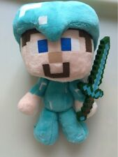 Minecraft Plush 1 Piece. Steve Plush Toys Steve Diamond Sword Stuffed Toy Kids