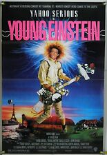 YOUNG EINSTEIN FF ORIG 1SH MOVIE POSTER YAHOO SERIOUS COMEDY (1988)