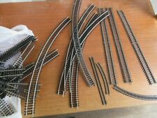 LARGE BOX OF HORNBY TRAIN TRACK  MIXED SIZES STRAIGHTS & BENDS  A LOT OF TRACK
