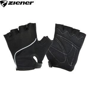 Ziener CHAN Junior Kids Bike Gloves - Black - Youth Size M, L, XL
