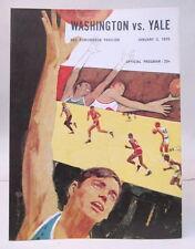 1/70 YALE at WASHINGTON HUSKIES basketball program