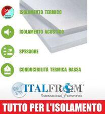 Pannello in EPS 100 per Isolamento Termico Acustico -100 x 50 x 2 cm Italfrom