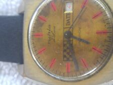 Vintage Ruhla Deluxe Mechanical Watch