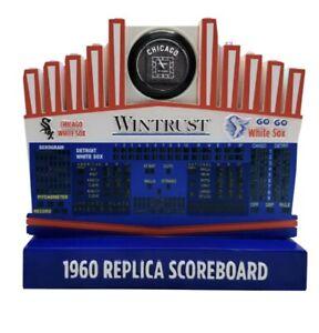 Chicago White Sox 1960 Replica Scoreboard SGA 7/17/21