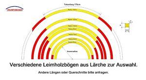 Lärche Leimholzbogen Halbrund Holzbogen Veranda Vordach Rosenbogen Pergola