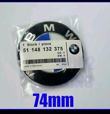 EMBLEMA. BMW DE 74mm MALETERO