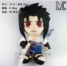 Anime Naruto Uchiha Sasuke Stuffed Figure Anime Plush Doll 12'' New