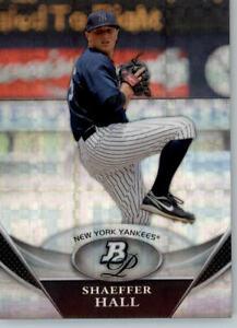 2011 Bowman Platinum Prospects X-Fractors #BPP28 Shaeffer Hall - Yankees