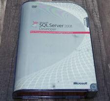 Microsoft SQL Server 2008 Developer full version pre-owned E32-00673