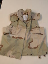 8470-01-327-8546 PASGT Desert Storm Camouflage Armor Vest XS (Lot of 10)
